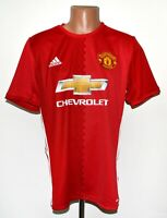 *BNWT* MANCHESTER UNITED 2016/2017 HOME FOOTBALL SHIRT JERSEY ADIDAS SIZE L