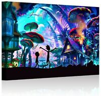 Wall Art Rick and Morty Posters On Canvas Prints
