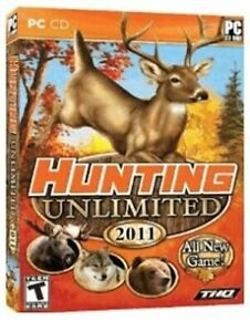 LOT 20  Hunting Unlimited 2011   Brand New PC Hunting Game     NEW