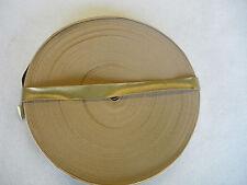 Einfaßband -- Kunstleder  --- gold  --