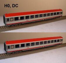 ACME 55183: ÖBB Set mit 2 Wagen Typ Bmz,  2. Klasse in Rot/Grau, Ep.VI, H0, NEU