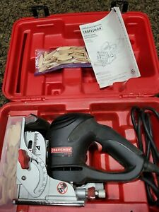 NEW CRAFTSMAN 6 amp Biscuit Joiner with biscuits model 315.175390