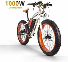 "ZLZNX Fat Tire Electric Bike Mountain Bike 26""E-Bike"