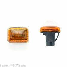 ROVER SD1,200,400,800,ROVER METRO, AMBER INDICATOR SIDE REPEATER LENSES x2 6B4