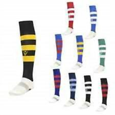 MACRON HOOPS SOCKS FOR FOOTBALL & RUGBY - ADULT SIZES