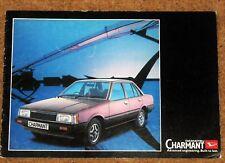 1981-83 DAIHATSU CHARMANT Sales Brochure UK Market - 1300LC 1300LE 1600LE
