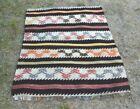 Traditional Oushak Authentic Kilim Rug Anatolian Vintage Turkish Carpet 3x4 ft