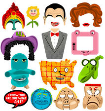 DIGITAL Pee Wee Herman photo booth props NO PHYSICAL ITEM