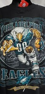 Philadelphia Eagles Double sided print, Black size M,L,2XL