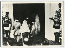 Italie, Bâpteme de la Princesse Maria-Pia de Savoie  Vintage .  Tirage argenti