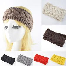 Mode Damen Winter warm strick WOLLMÜTZE Beanie-Mütze geflochten Häkel Ski-Mütze