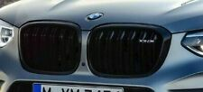 BMW Genuine F97 X3 M Competition Front Gloss Black Grille Set Pair NEW
