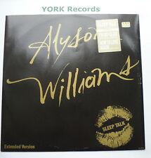 "ALYSON WILLIAMS - Sleep Talk - Excellent Con 12"" Single CBS Def Jam 654656 6"