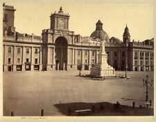 Photo Albuminé Napoli Naples Italie Vers 1870/80 # 3