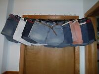 Mini Jean Shorts LC Lauren Conrad size 16,14,12,10,8,4,0,Mainly Blue & Other col