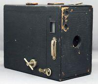 Antique Vintage Eastman Kodak BROWNIE 2A Model B Box Film Camera USA CLEAN!