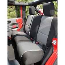 Jeep Wrangler Jk 07-17 Blk/Gray Rear Seat Cover 4 Door  X 13264.09