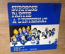 Surprise-partie à l'internat Revue des revues 1962 Strasbourg tirage limité EXC-
