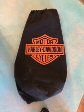 """Harley Davidson Vintage Canvas Duffle Bag 28"""" X 22"""" From Motorcycle Cover"""