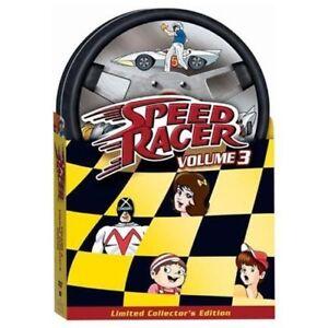 Speed Racer - Volume 3 DVD Original 60's Series - RARE OOP