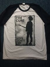 The Cure 40th Anniversary Concert Long sleeved Shirt.2018.Hyde Park.Size medium.