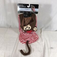 Brown Monkey Pet Dog Halloween Costume Circus Small One Piece New Fun Cat
