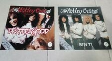 MOTLEY CRUE TWO MEXICO PICTURE SLEVES MEXICAN NO VINYL ONlY COVERS PROMOS