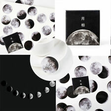 Lot of 45x Interesting Moon Mini Paper Sticker Diary  Scrapbooking Label Sticker