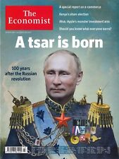 The Economist Magazin, Heft 43/2017: A tsar is born  +++ wie neu +++