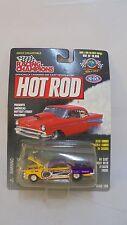 Racing Champions Hot Rod Magazine #105 '60 Chevy Impala Six Flags 1:64 scale MIB
