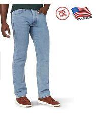 Lee Riders Indigo Men's Regular FitJeans Pants - Light Stonewash, 52x34