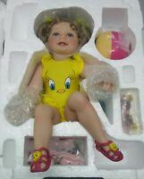 Ashton Drake Galleries Summer-Lovin' Tweety Looney Tunes Twenty Porcelain Doll