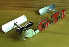 New 3D Rabbit GTI Metal Front Hood Grille Badge Grill Emblem logo For VW