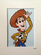 Disney - Toy Story - Woody - Hand Drawn & Hand Painted Cel