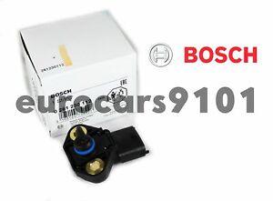 New! Saab 9-3 Bosch Fuel Pressure Sensor 0261230112 12582232