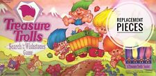Treasure Trolls Search for the Wishstones Game Replacement Pieces Pressman 1992