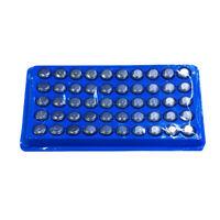 50 x AG13/LR44/A76 Piles bouton alcaline T3F1 R8
