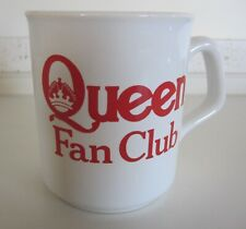 QUEEN : Official Vintage 1977 Fan Club Promotional Mug Cup (Boxed)