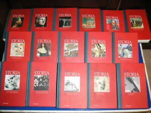 Enciclopedia LA STORIA 1 > 16 volumi OPERA COMPLETA Mondadori