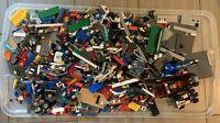 Lego 5 Pounds LBS Parts & Pieces HUGE BULK LOT bricks blocks pound city town