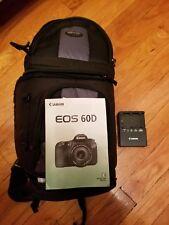 Canon EOS 60D Camera and Tamron Auto Focus Lenses