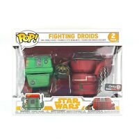 Star Wars SOLO Funko POP Exclusive FIGHTING DROIDS Figures 2-Pack