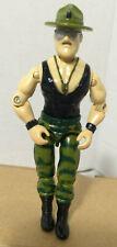 1986 GI Joe Sgt. Slaughter V2 Triple-T TTT Tank Driver Figure Hasbro Wrestler