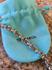 "Tiffany & Co Sterling Silver 16"" Necklace with lobster claw clasp"