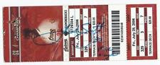 Luke Scott Signed Hit For Cycle Full Unused Season Ticket 7 28 2006 PSA
