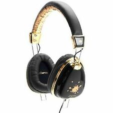iDance - FUNKY100 - Headphones In Line Mic - Black And Gold