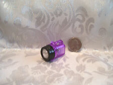 NEW FASHION DOLL SIZE WORKING CAMPING FLASHLIGHT ACCESSORY LIGHT WORKS! PURPLE