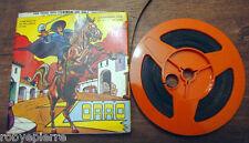 Pellicola super 8 8mm ZORRO film ridotto da pellicola 35mm 35 mm Avo Milano 1970