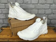REEBOK MENS UK 8 EU 42 WHITE PUMP SUPREME DISTANCE TRAINERS ULTRA KNIT RRP £160