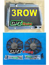 3 Row Aluminum Radiator+FAN 1963-1968 Chevy Impala / 1964-1967 Chevy El Camino